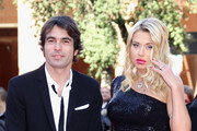 """Director Christian Molina and producer and actress Valeria Marini attend the """"I Want To Be A Soldier"""" Premiere during the 5th International Rome Film Festival at Auditorium Parco Della Musica on November 3, 2010 in Rome, Italy."""