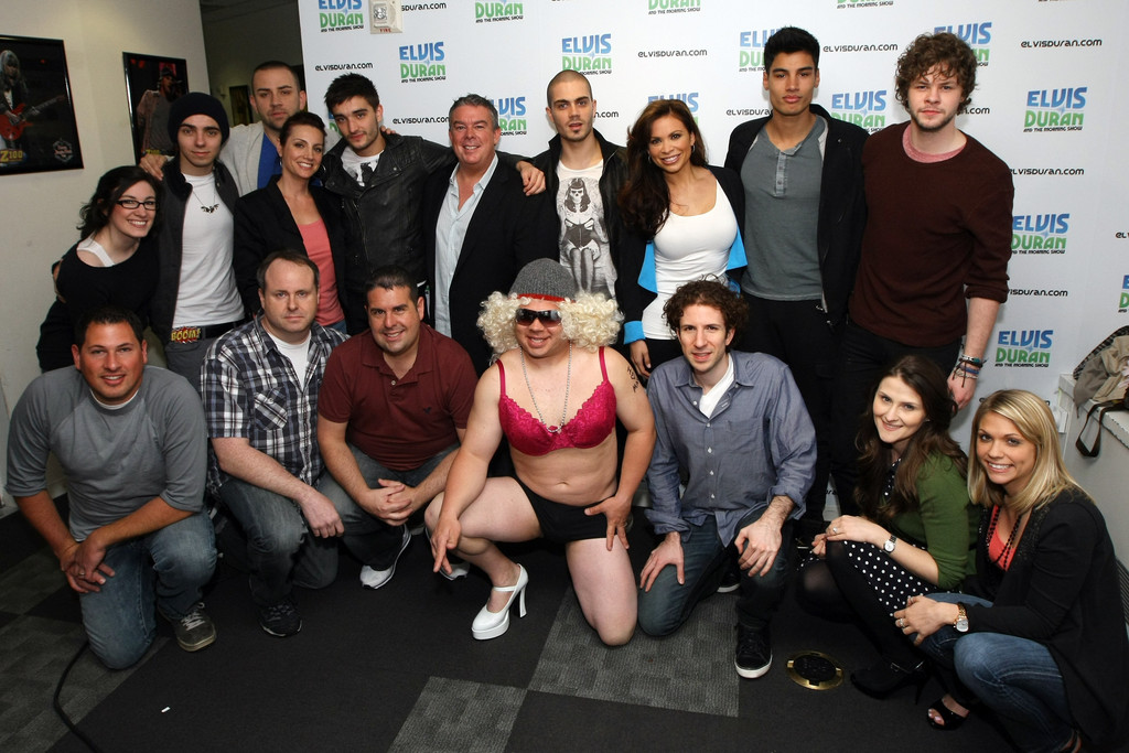 ... Photos - The Wanted Visits Elvis Duran's Z100 Morning Show - Zimbio