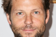 Actor Jamie Bamber attends the 'War Horse' red carpet opening night at the Pantages Theatre on October 8, 2013 in Hollywood, California.