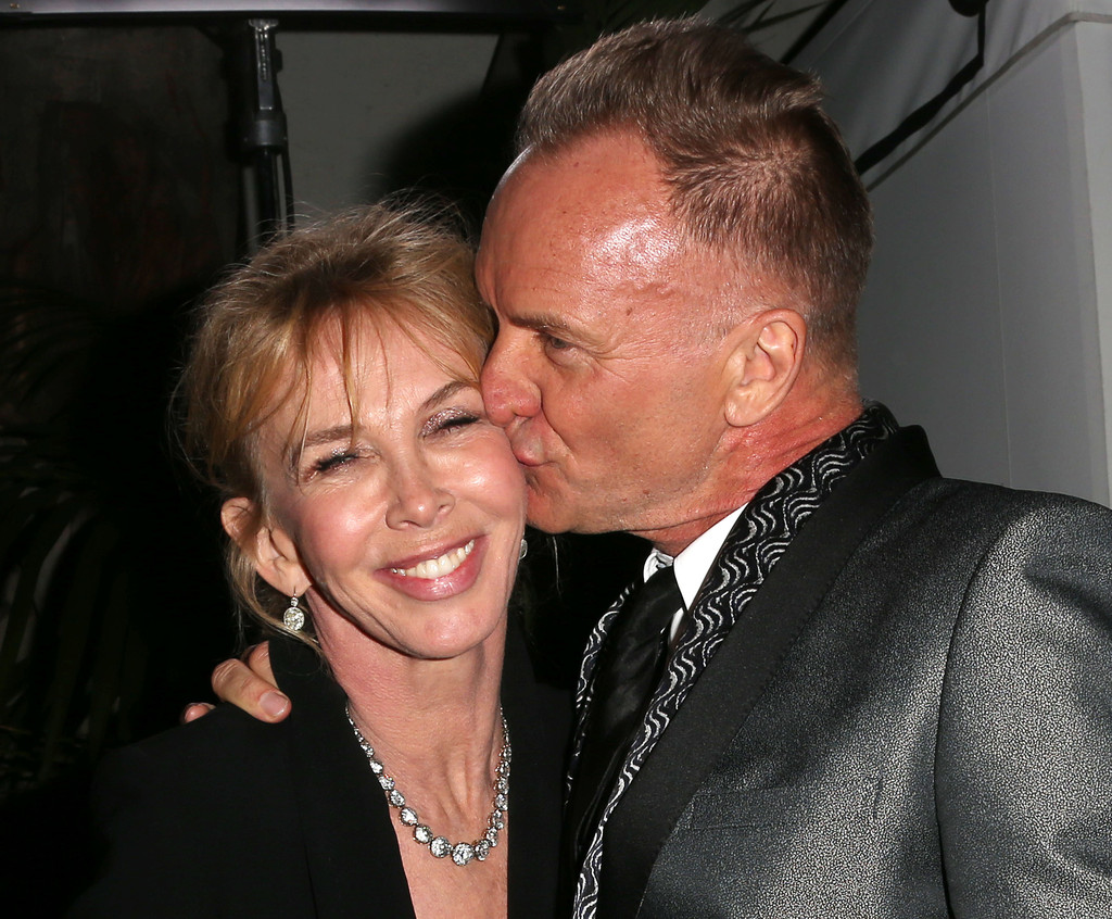 Sting And Trudie Styler Photos Photos Warner Music Group