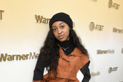 Alexis Chikaeze stops by WarnerMedia Lodge: Elevating Storytelling with AT&T during Sundance Film Festival 2020 on January 24, 2020 in Park City, Utah.