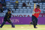 Jesse Ryder of Essex is bowled by Josh Poysden of Warwickshire during the Royal London One-Day Cup quarter final match between Warwickshire and Essex at Edgbaston on August 17, 2016 in Birmingham, England.