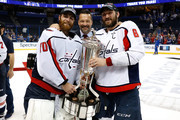 Alex Ovechkin and Braden Holtby Photos Photo