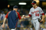 Matt Williams Doug Fister Photos Photo
