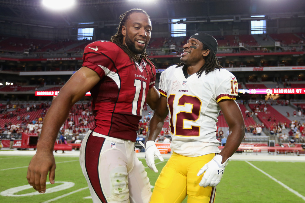 Larry fitzgerald and andre roberts photos photos zimbio for Andre robert