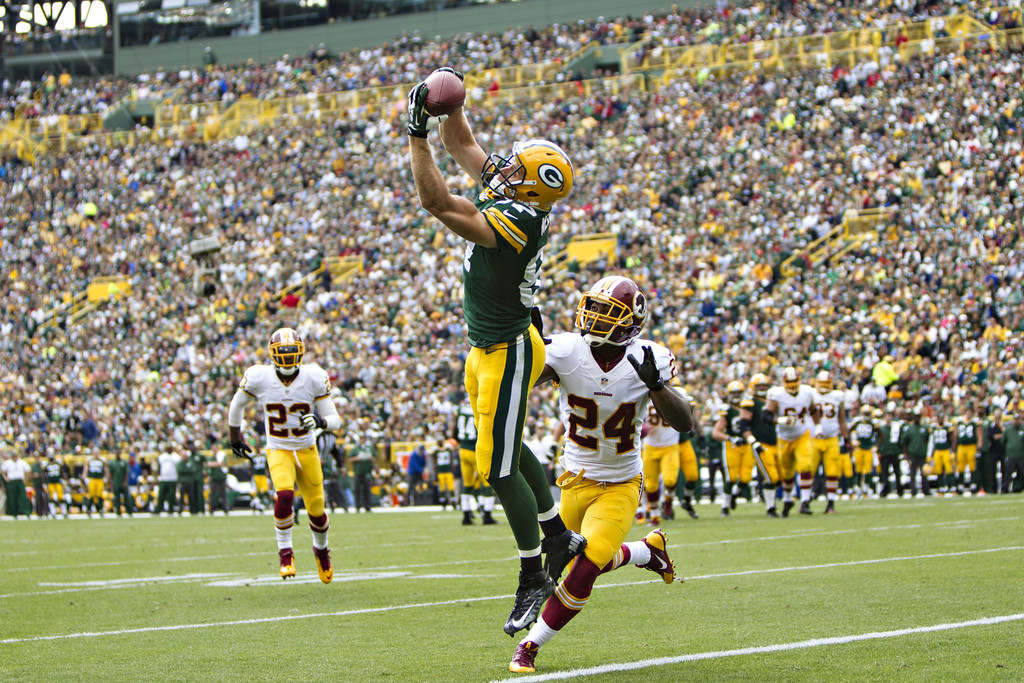 Jordy Nelson Photos Photos - Washington Redskins v Green ...