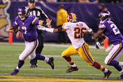 Adrian Peterson Christian Ponder Photos Photo