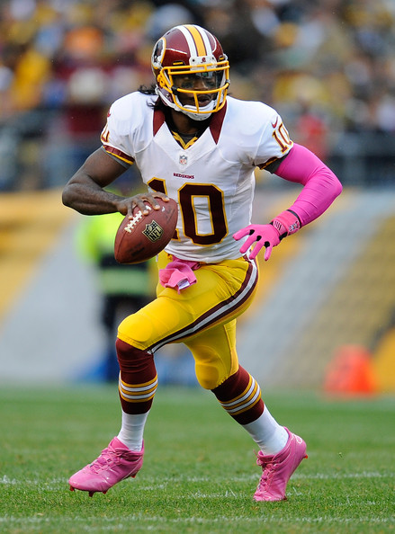 Robert Griffin III vs Pittsburgh Steelers