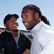 Larry Fitzgerald and Michael Floyd Photos