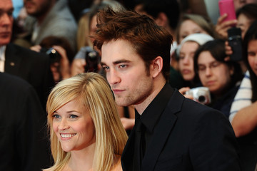 Reese Witherspoon Robert Pattinson Water For Elephants UK Premiere