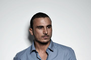 Image has been desaturated) Actor Francesco di Leva attends the 'Waves' portrait session during the 7th Rome Film Festival on November 13, 2012 in Rome, Italy.