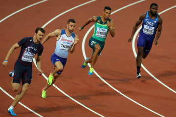 Wayde van Niekerk 16th IAAF World Athletics Championships London 2017 - Day Six