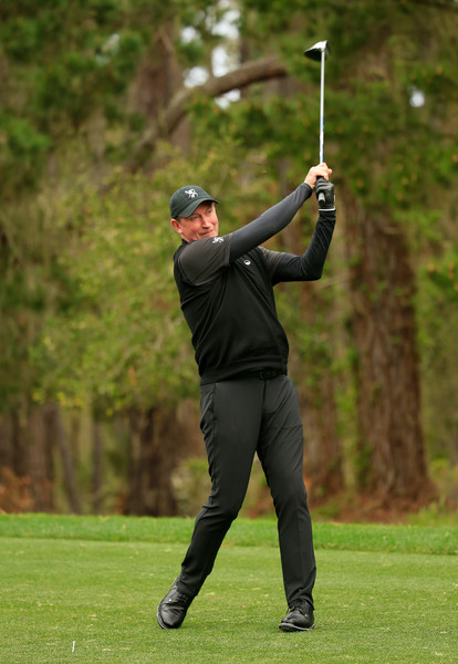 Wayne Gretzky Photos Photos At T Pebble Beach Pro Am Round Two