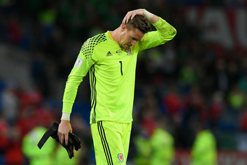 Wayne Hennessey Wales v Republic of Ireland - FIFA 2018 World Cup Qualifier