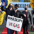 Wayne Hosking Las Vegas Entertainers Kick Off Pro-Mask Wearing Campaign With Fashion Show Amid Spike In COVID-19 Cases