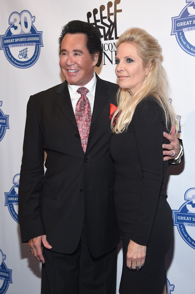 30th Annual Great Sports Legends Dinner to Benefit The Buoniconti Fund to Cure Paralysis - Arrivals [great sports legends dinner to benefit the buoniconti fund to cure paralysis,suit,event,formal wear,white-collar worker,tuxedo,premiere,carpet,award,arrivals,kathleen mccrone,wayne newton,the waldorf astoria,new york city,the buoniconti fund to cure paralysis,annual great sports legends dinner]