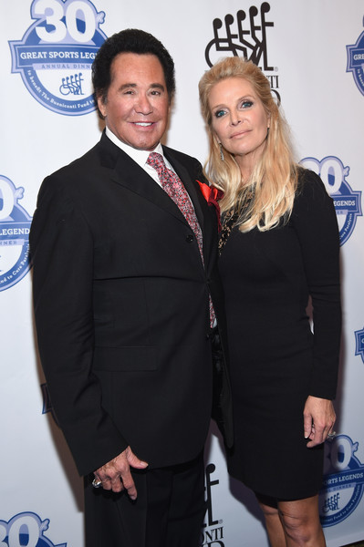 30th Annual Great Sports Legends Dinner to Benefit The Buoniconti Fund to Cure Paralysis - Arrivals [great sports legends dinner to benefit the buoniconti fund to cure paralysis,event,suit,premiere,formal wear,smile,white-collar worker,little black dress,arrivals,kathleen mccrone,wayne newton,the waldorf astoria,new york city,the buoniconti fund to cure paralysis,annual great sports legends dinner]
