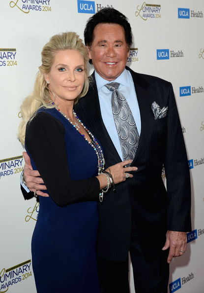 Arrivals at the UCLA Luminary Awards [suit,event,award,formal wear,white-collar worker,tuxedo,wayne newton,kathleen mccrone,r,ucla head and neck surgery luminary awards,beverly hills,california,beverly wilshire four seasons hotel,red carpet,ucla head and neck surgery luminary awards]