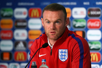 Wayne Rooney Euro 2016 - England Press Conference