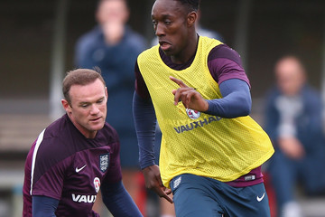 Wayne Rooney Danny Welbeck England Training and Press Conference