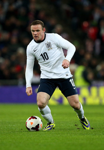 Wayne Rooney England Wayne Rooney Wayne Rooney of England in action during the