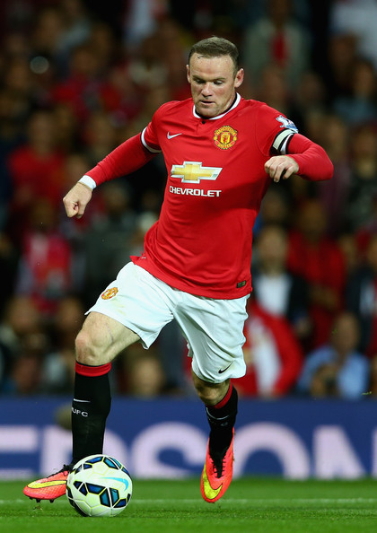 Wayne Rooney Manchester United 2014 Wayne Rooney Wayne Rooney of Manchester United in action during the