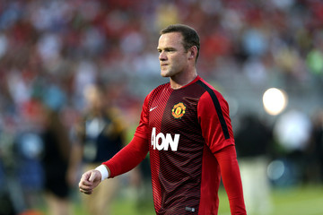 Wayne Rooney Manchester United v Los Angeles Galaxy