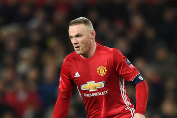 Wayne Rooney Manchester United v Wigan Athletic - The Emirates FA Cup Fourth Round