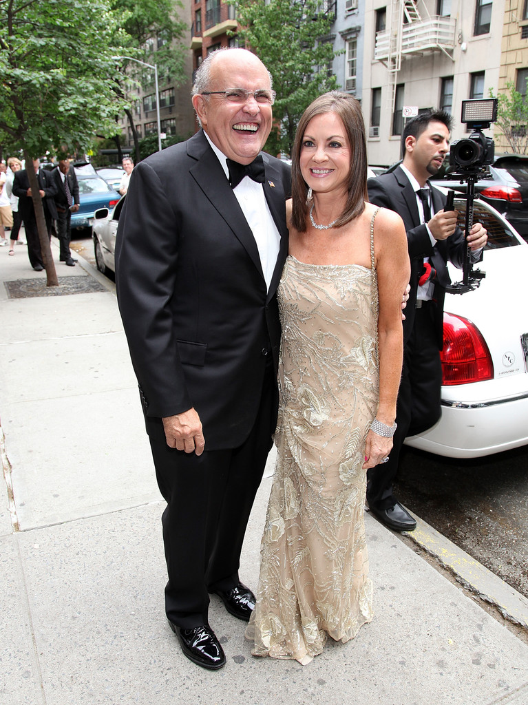 Rudy giuliani wedding