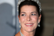 Princess Caroline of Monaco attends the Gala dinner for the wedding of Prince Guillaume Of Luxembourg and Stephanie de Lannoy at the Grand-ducal Palace on October 19, 2012 in Luxembourg, Luxembourg. The 30-year-old hereditary Grand Duke of Luxembourg is the last hereditary Prince in Europe to get married, marrying his 28-year old Belgian Countess bride in a lavish 2-day ceremony.