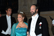 Countess Luisa de Lannoy and Count Christian de Lannoy attend the Gala dinner for the wedding of Prince Guillaume Of Luxembourg and Stephanie de Lannoy at the Grand-ducal Palace on October 19, 2012 in Luxembourg, Luxembourg. The 30-year-old hereditary Grand Duke of Luxembourg is the last hereditary Prince in Europe to get married, marrying his 28-year old Belgian Countess bride in a lavish 2-day ceremony.
