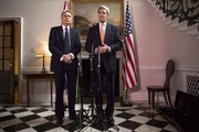 John Kerry and Philip Hammond Photos Photo