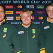 Adriaan Strauss and Francois Louw Photos