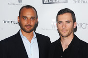 "Director Amir Bar-Lev (L) and oldier Russell Baer attend the premiere of ""The Tillman Story"" presented by The Weinstein Company and A&E IndieFilms at MOMA on August 9, 2010 in New York City."