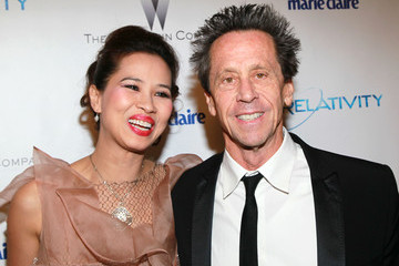 Brian Grazer Chau-giang Thi Nguyen The Weinstein Company And Relativity Media's 2011 Golden Globe Awards Party - Arrivals