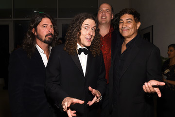 Weird Al Yankovic 2016 Pre-GRAMMY Gala And Salute to Industry Icons Honoring Irving Azoff - Red Carpet