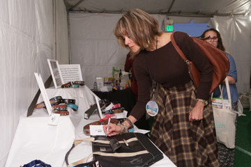 Wendie Malick Backstage Creations Treat Suite at FOX's All-Star Dog Rescue Celebration