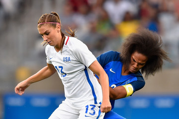 Wendie Renard USA v France: Women's Football - Olympics: Day 1