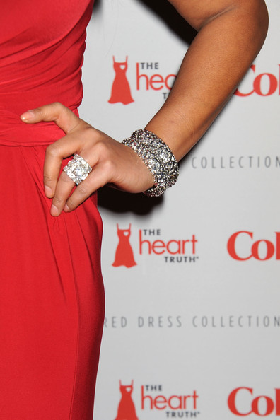 Wendy Williams Wendy Williams Ring Detail Attends The Heart Truth