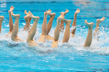 Wenwen Jiang Olympics Day 13 - Synchronised Swimming