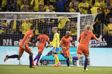 Wesley Sneijder Sweden v Netherlands - 2018 FIFA World Cup Qualifier