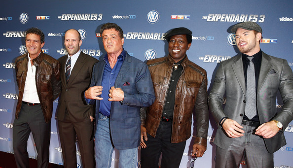 Wesley Snipes Photos Photos - 'The Expendables 3' Premieres in Cologn...