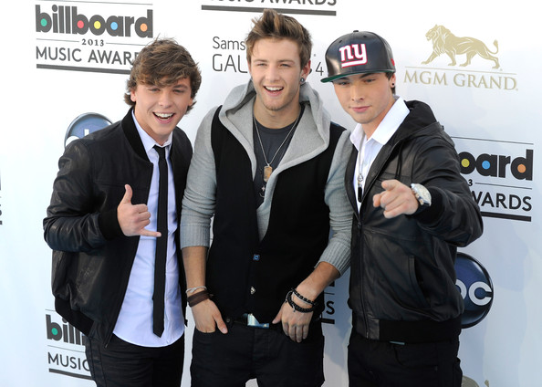 ... this photo wesley stromberg wesley stromberg of emblem3 appears at the