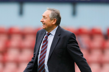 Gerard Houllier West Ham United v Aston Villa - Premier League