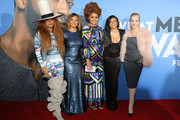 "(L-R) Erykah Badu, Tamala Jones, Phoebe Robinson, Taraji P. Henson and Wendi McLendon-Covey attend the U.S. Premiere of ""What Men Want"" in partnership with CÃŽROC and presented by Paramount Pictures, Paramount Players, BET Films and Will Packer Productions at the Regency Village Theatre on January 28, 2019 in Los Angeles, California."
