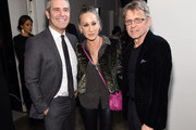 """Andy Cohen, Sarah Jessica Parker and Mikhail Baryshnikov attend """"The White Crow"""" New York Premiere at Metrograph on April 22, 2019 in New York City."""