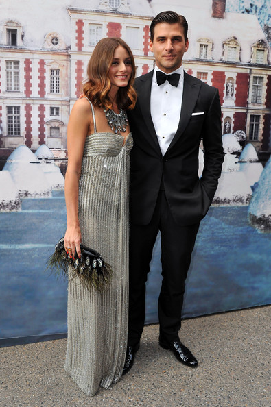 Olivia Palermo (L) attends 'The White Fairy Tale Love Ball' in support Of 'The Naked Heart Foundation' at Chateau de Wideville on July 6, 2011 in Crespieres, France.
