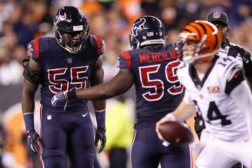 Whitney Mercilus Houston Texans v Cincinnati Bengals