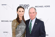 Georgina Bloomberg and Michael Bloomberg attend the Whitney Museum Of American Art Gala + Studio Party at The Whitney Museum of American Art on April 09, 2019 in New York City.