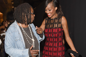 Whoopi Goldberg Carmen Marc Valvo Women's and Men's Collection S/S 2016 - Backstage